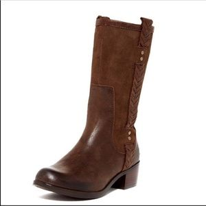 1004206 Ugg Leather Jaspen Distressed Oiled Boots